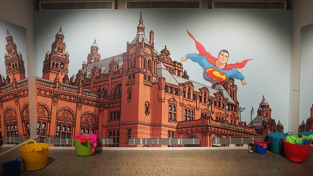 Frank Quitely Exhibition Kelvingrove 021