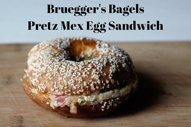 Bruegger's BagelsPretz Mex Egg Sandwich