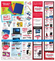 Office Depot / OfficeMax Ad July 9 - 15, 2017