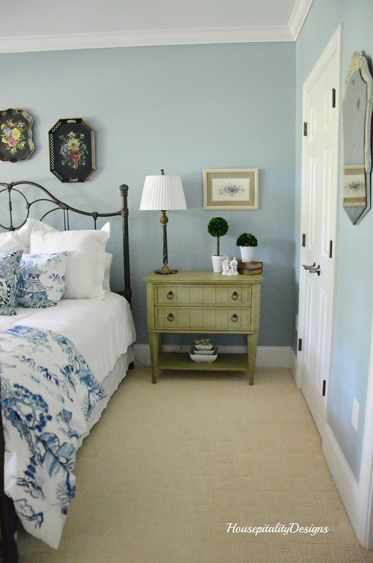 Guest Room-Blue and White-Chinoiserie-Housepitality Designs
