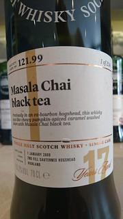 SMWS 121.99 - Masala Chai black tea