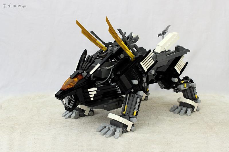 Lego Mech Head Instructions