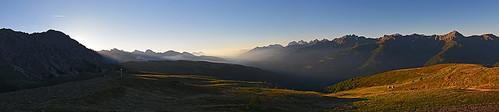 Steinrastl morning panorama