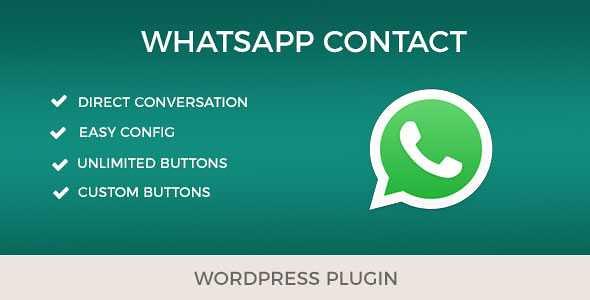WhatsApp Contact WordPress Plugin free download