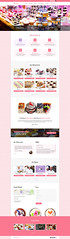 Croissant - Creative Bakery and Pastry Business One Page Template