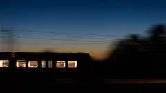 Hurdling through the night