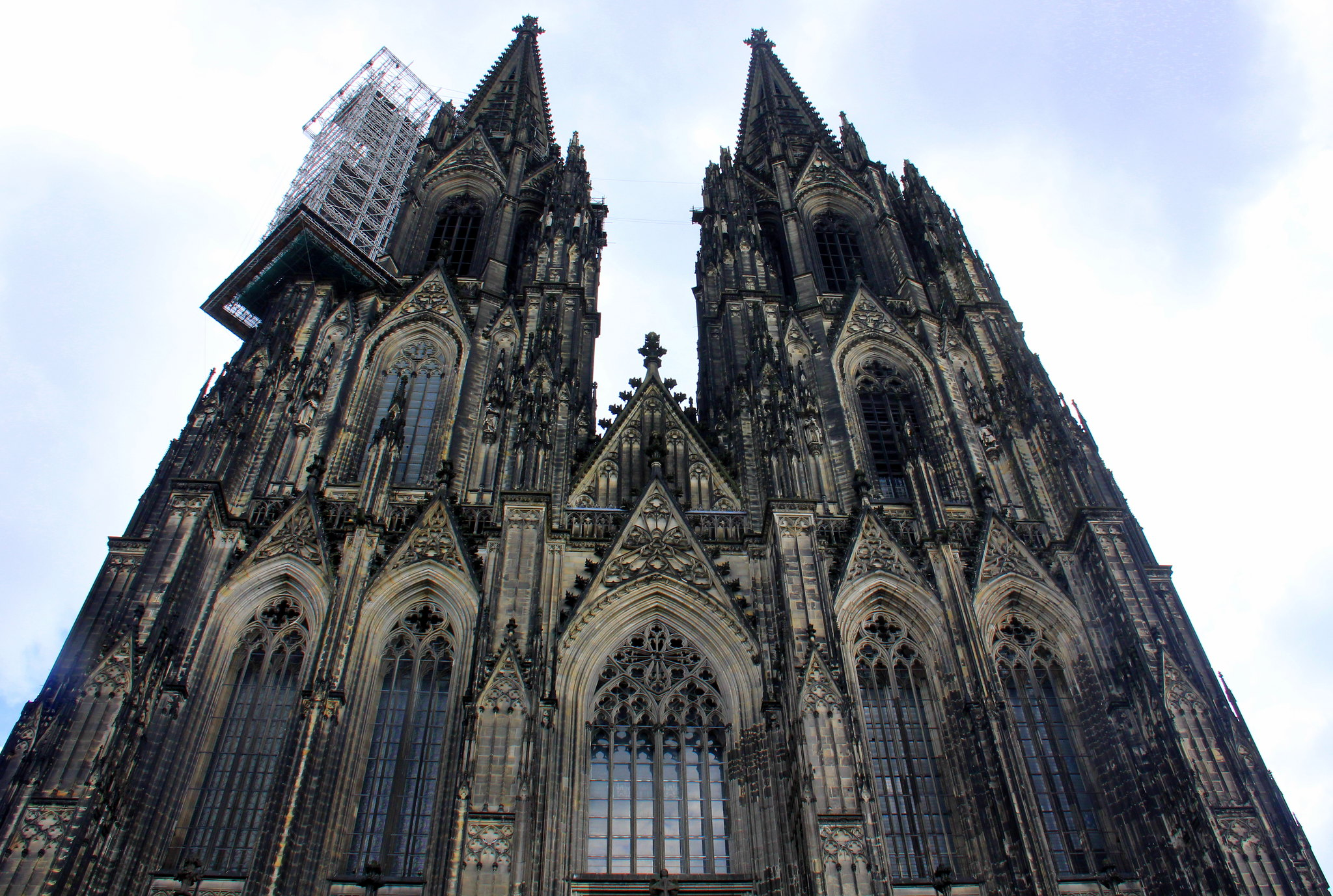 The Dom is the largest cathedral in Germany