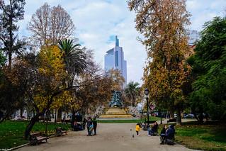 Fall Colors in Santiago