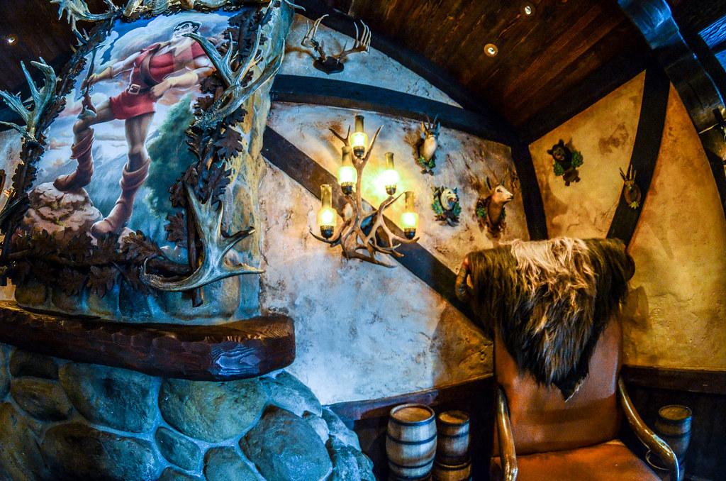 Gaston's tavern portrait
