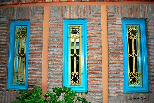 maroco012015 elisabethgaj afryka travel architecture building windows marrakech