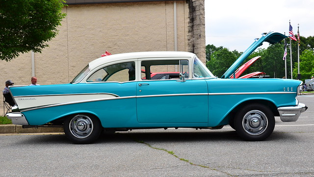 1957 Chevy 210 in Sky Blue