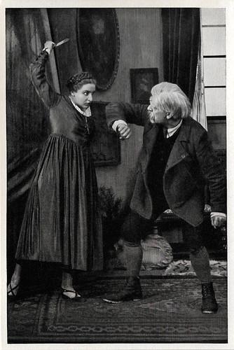 Henny Porten and Rudolf Biebrach in Das Geschlecht derer von Ringwall (1918)