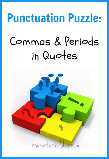 Punctuation Puzzle: Commas and Periods in Quotes