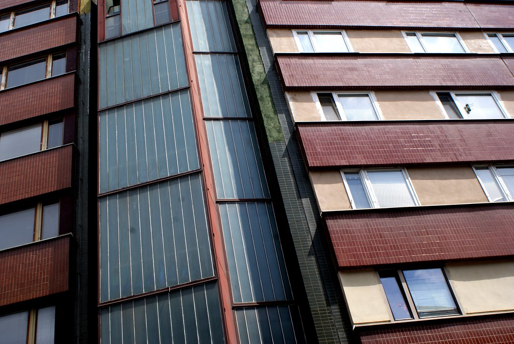 Architecture communiste à Bratislava.