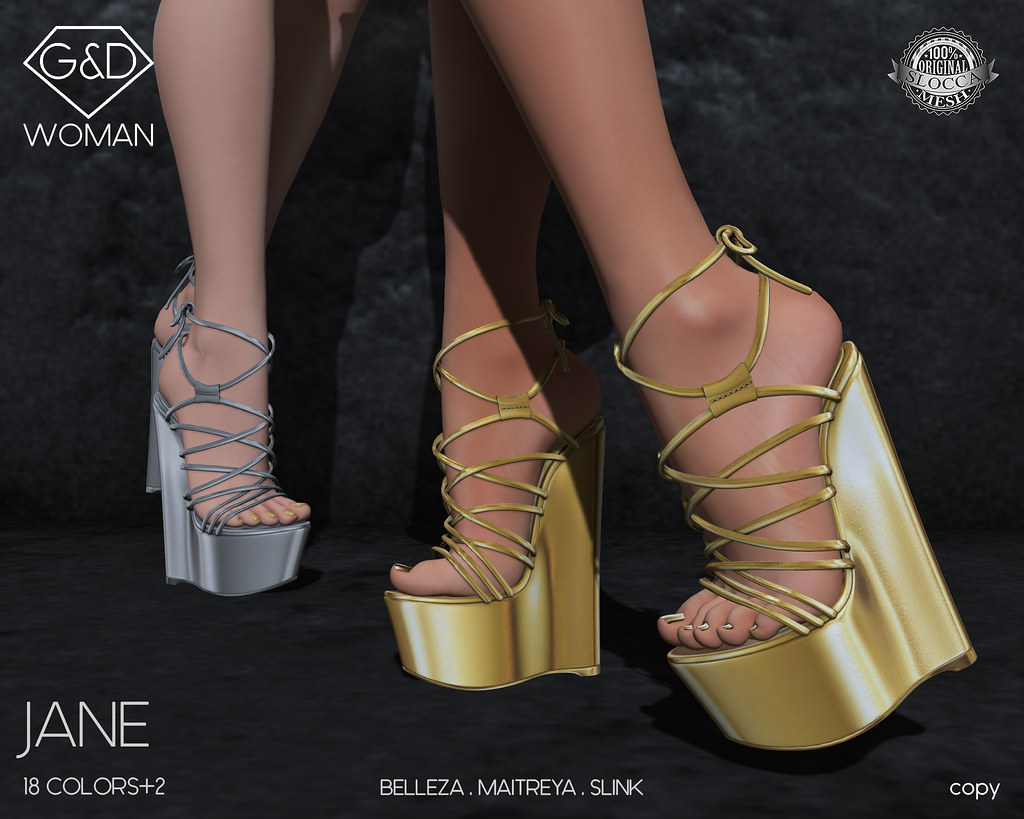 G&D Wedge Jane01 adv - SecondLifeHub.com