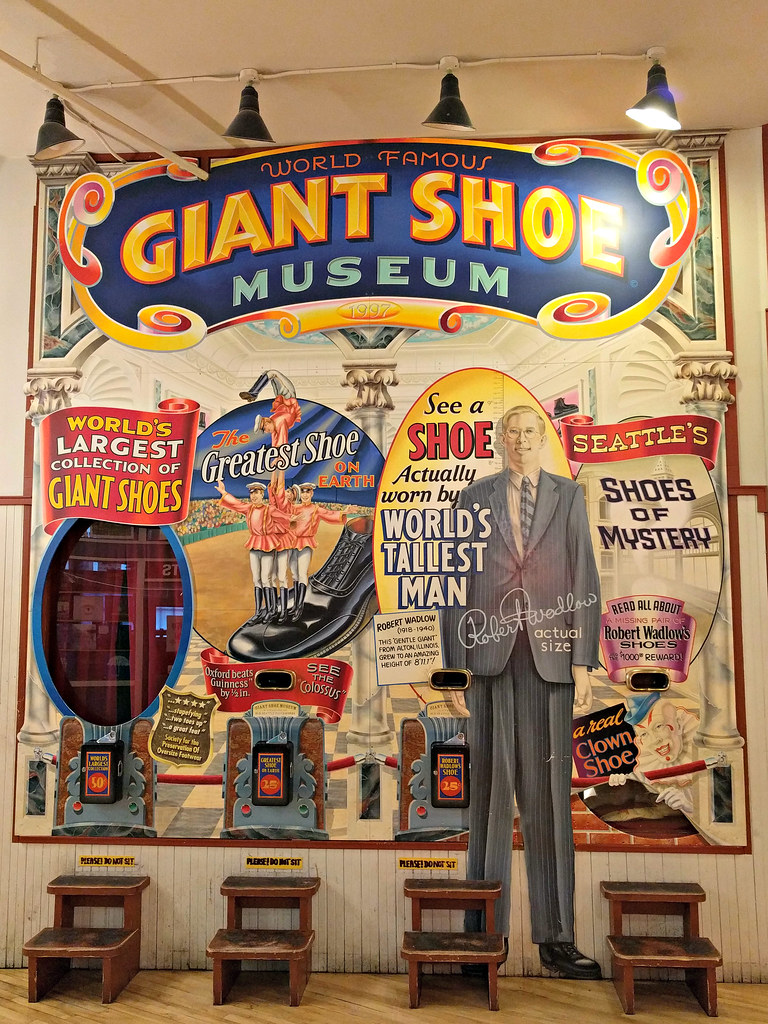 Giant Shoe Museum at Pike Place Market