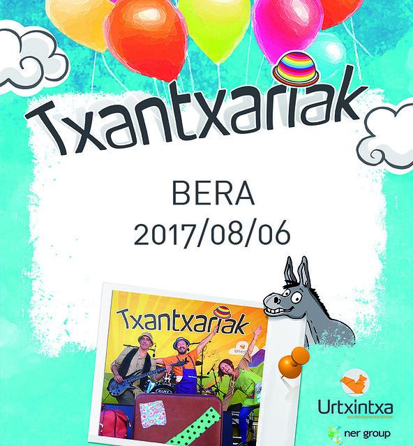 Txantxariak Beran 2017/08/06