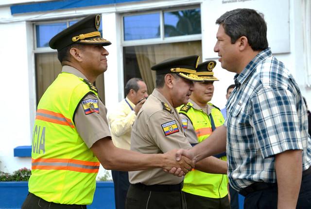 Ampliar las estrategias antidelicuenciales en Huaquillas y Pasaje es el objetivo de autoridades gubernamentales y policiales
