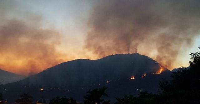 Incendi nel salernitano da nord a sud della provincia for Sud arredi nocera superiore
