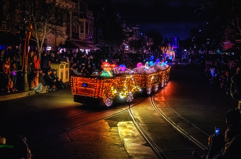 A Pretty Dopey Parade Float