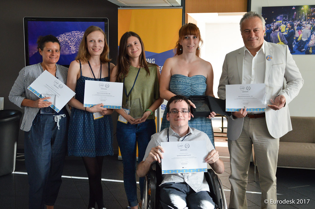 Eurodesk Awards 2017 Brussels - June 14