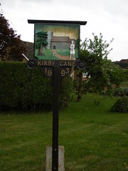 Kirby Cane village sign