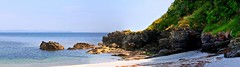 View from Looe Island. Panorama. Nikon D300s. DSC_3973-3977.