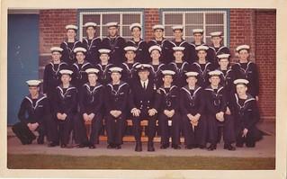 HMS Ganges, November 1975
