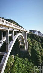 Bixby Creek Bridge in Big Sur, CA
