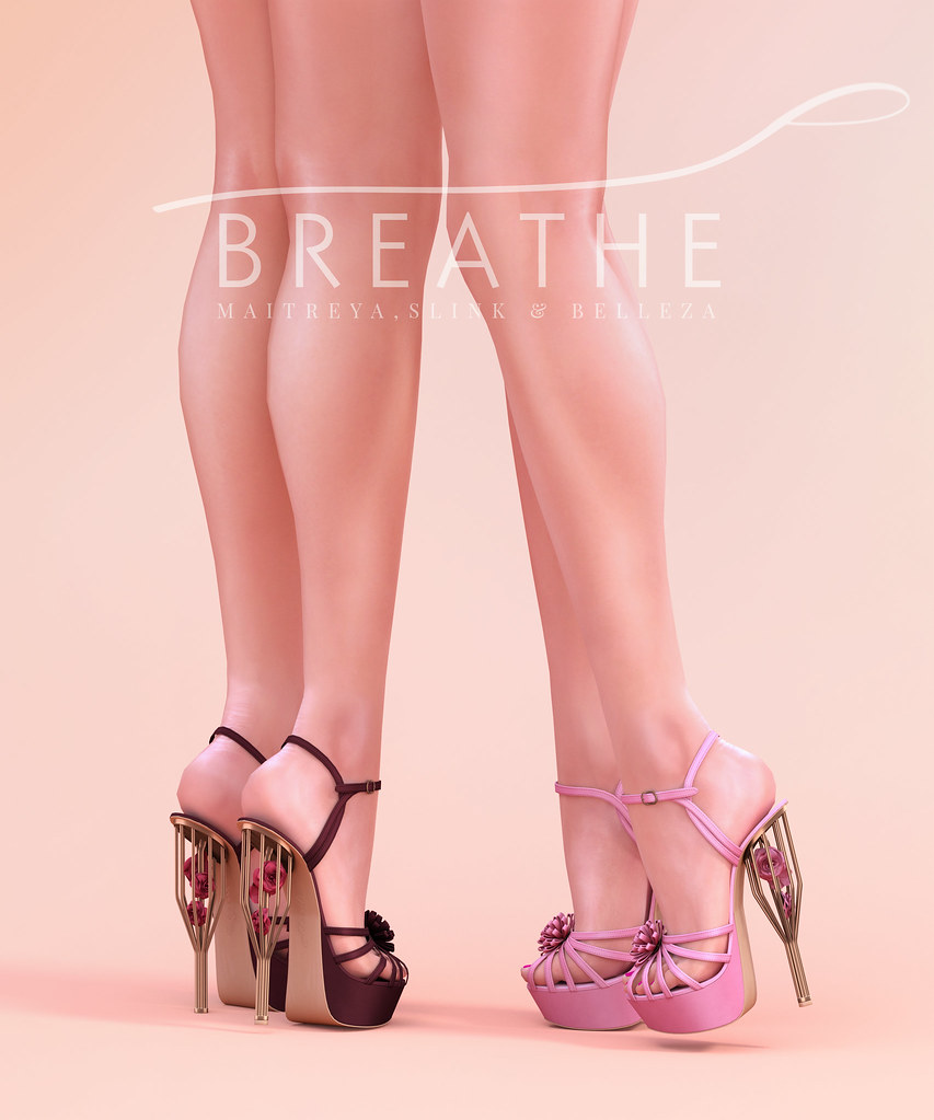[BREATHE]-Sango Heels - SecondLifeHub.com