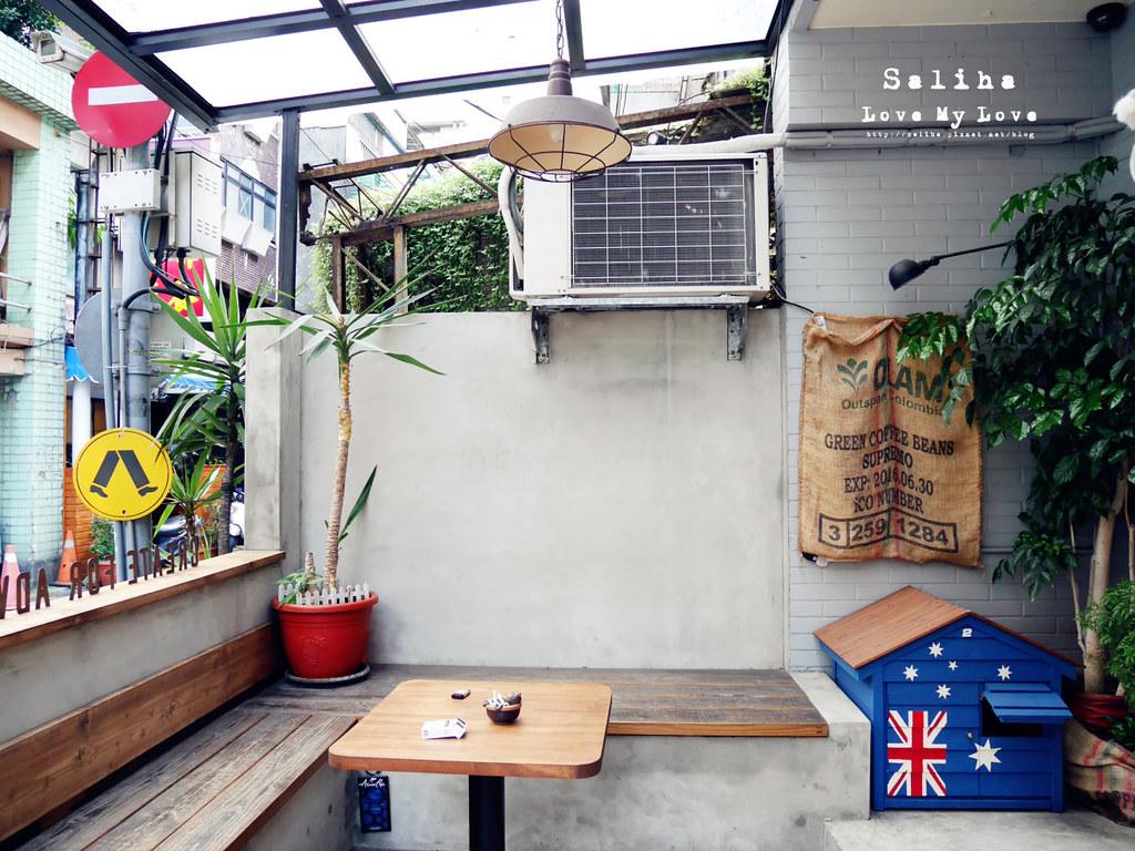 台北捷運雙連站和中山國小站附近餐廳咖啡館推薦Aussie Cafe 澳氏咖啡早午餐