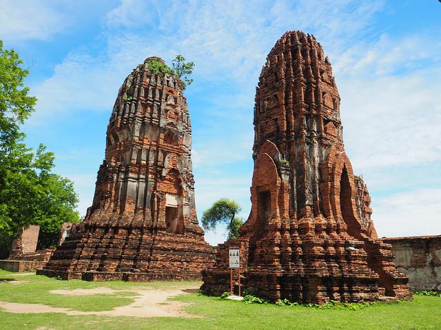 P6222651 ワット・マハータート(Wat Mahathat/วัดมหาธาตุ) アユタヤ タイ thailand 世界遺産
