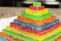 How To Make GUMMY LEGO Jello Candy - DIY Stackable Jello Gummy Lego Blocks (Make Jello Lego Gummies)