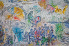 Details of Chagall's Four Seasons Mosaic (1)