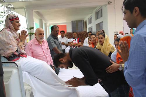 Devotees seeking blessings: June 14