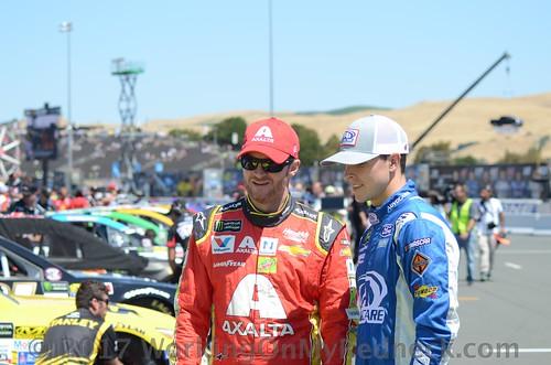 Dale Earnhardt, Jr. & Trevor Bayne