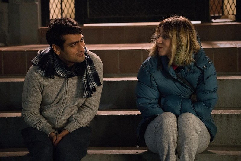 Kumail Nanjiani and Zoe Kazan make a unique start to their relationship in THE BIG SICK.
