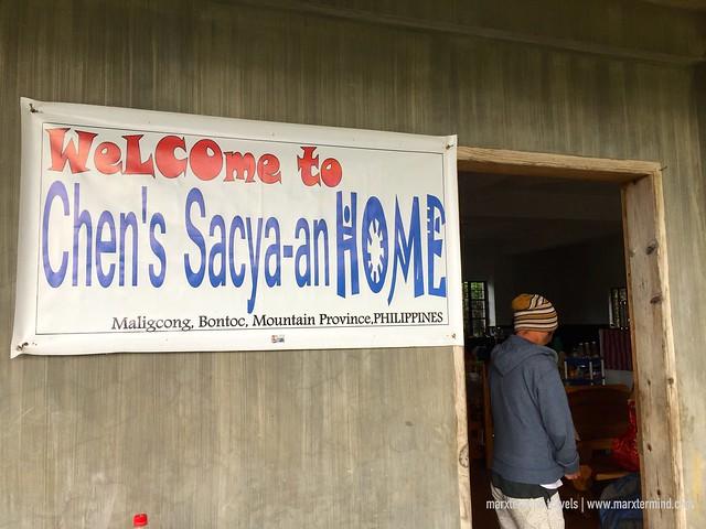 Chen's Sacya-an Home Maligcong Homestay