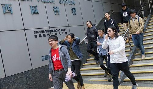 2016反釋法遊行被捕