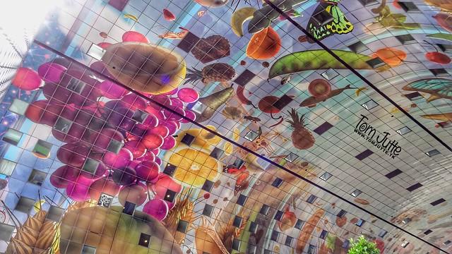 Hoorn des Overvloeds, Markthal, Rotterdam, Netherlands - 5135