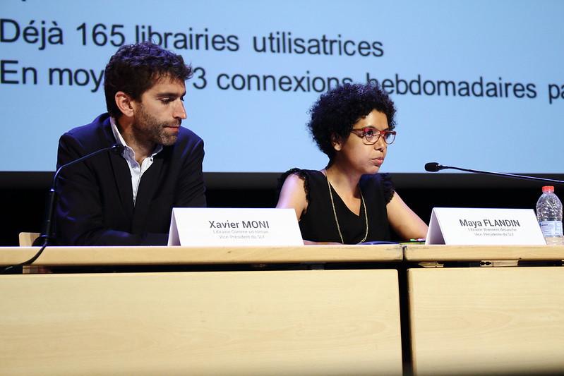 Xavier Moni et Maya Flandin - Rencontres nationales de la librairie 2017 à La Rochelle