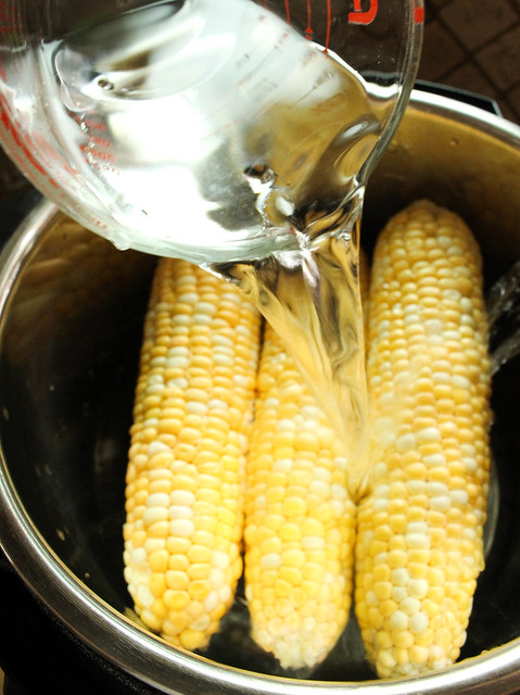 Instant Pot Corn On The Cob - For The Long Weekend
