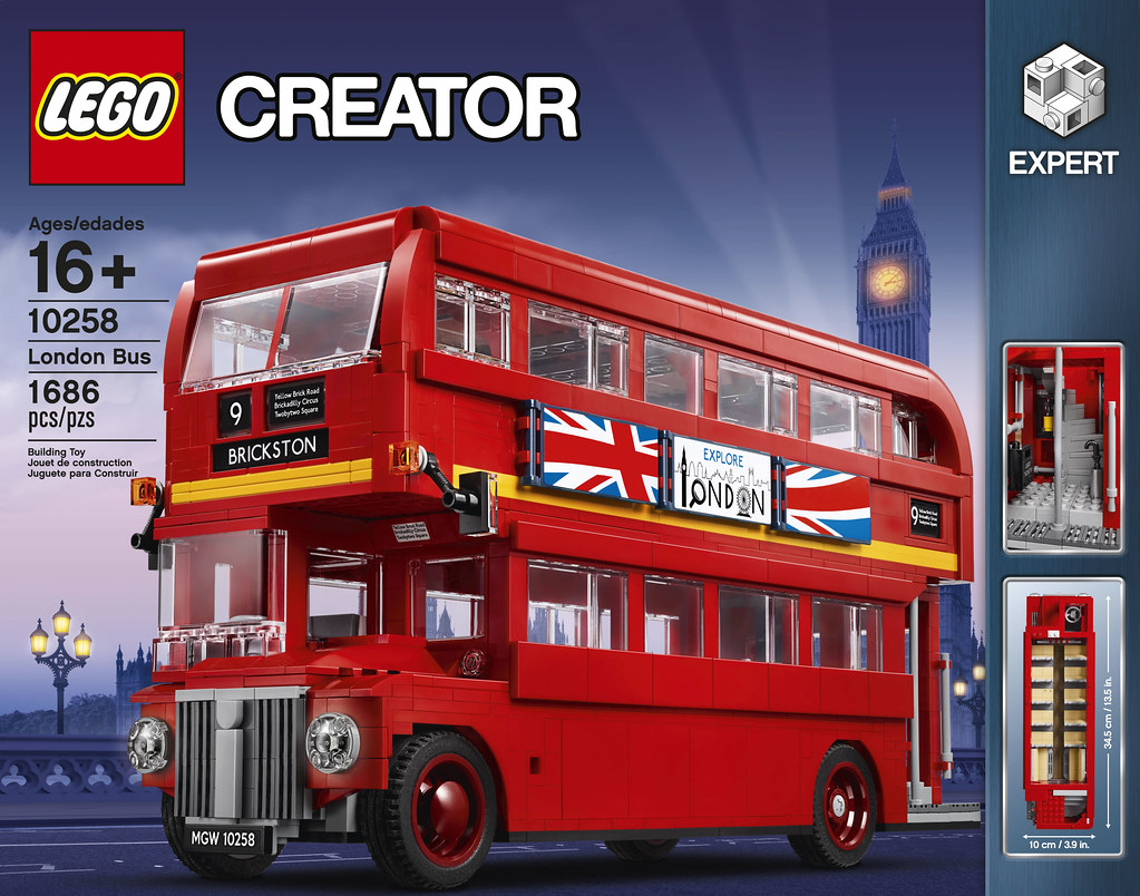 LEGO Creator Expert 10258 - London Bus