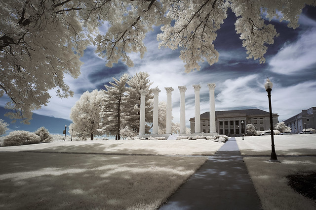 Westminster Columns Infrared III