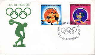 Dominican Republic First Day Cover XXI Olympiad Canada
