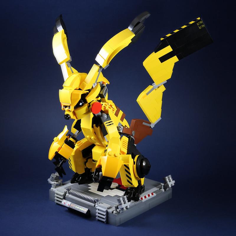 [MOC分享] Pikachu mecha 皮卡丘機甲