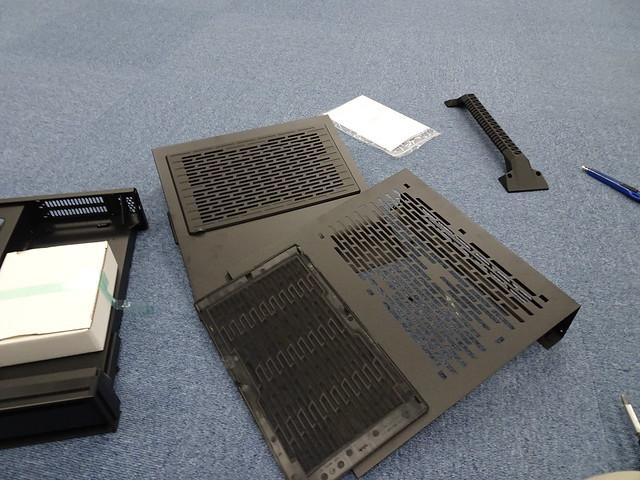 側板上面的濾網可以拆