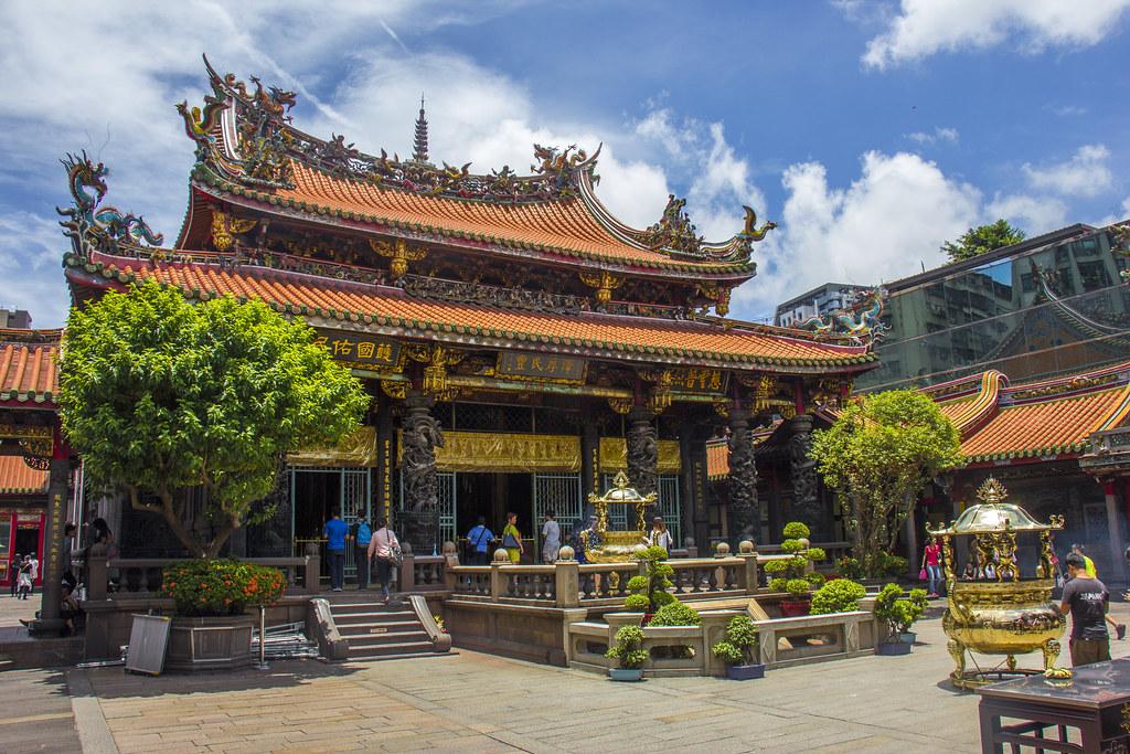 Longshan templet i Taipei