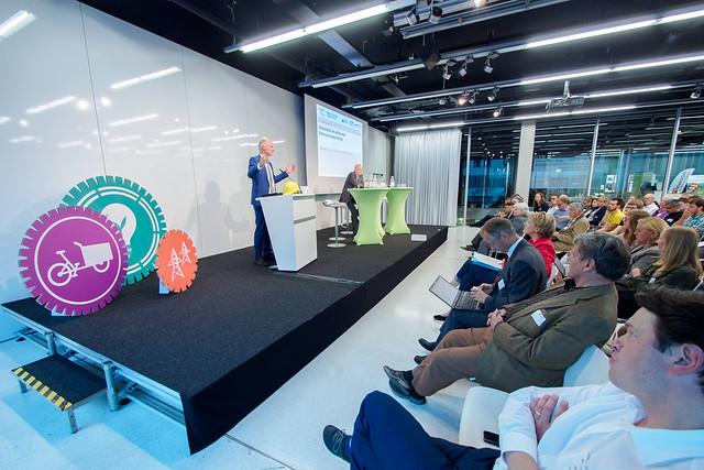 Rainer Baake, Staatssekretär (Bundesministerium für Wirtschaft und Energie), Ralf Fücks (Vorstand, Heinrich-Böll-Stiftung) Foto: stephan-roehl.de