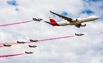Iberia A330-200 Patrulla del Aire (Iberia)